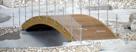 Coperture e strutture in legno lamellare a lecce a prezzi for B b arredi